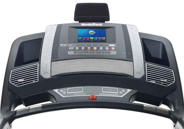 The feature-packed Commercial 1750 Treadmill