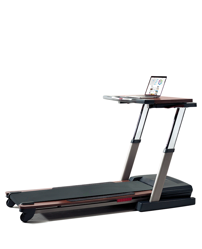 NordicTrack Treadmill Desk Platinum Treadmills