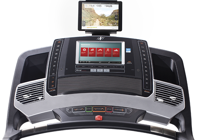 The feature-packed Commercial 2950 Treadmill