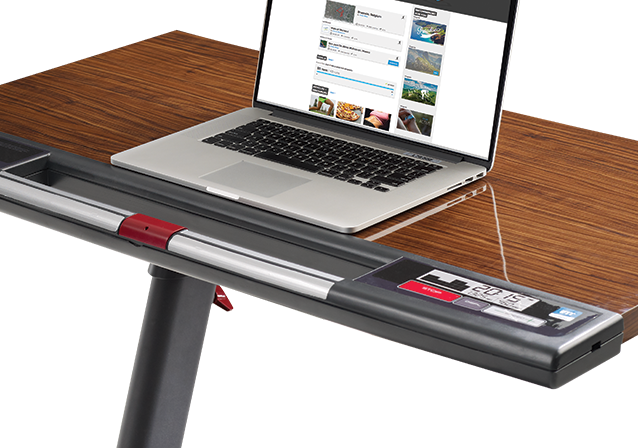 The feature-packed Treadmill Desk