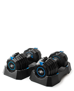 NordicTrack Select-A-Weight 55 Lb. Dumbbell Set Strength