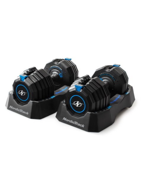 NordicTrack Select-A-Weight 55 Lb. Dumbbell Set Cross Training