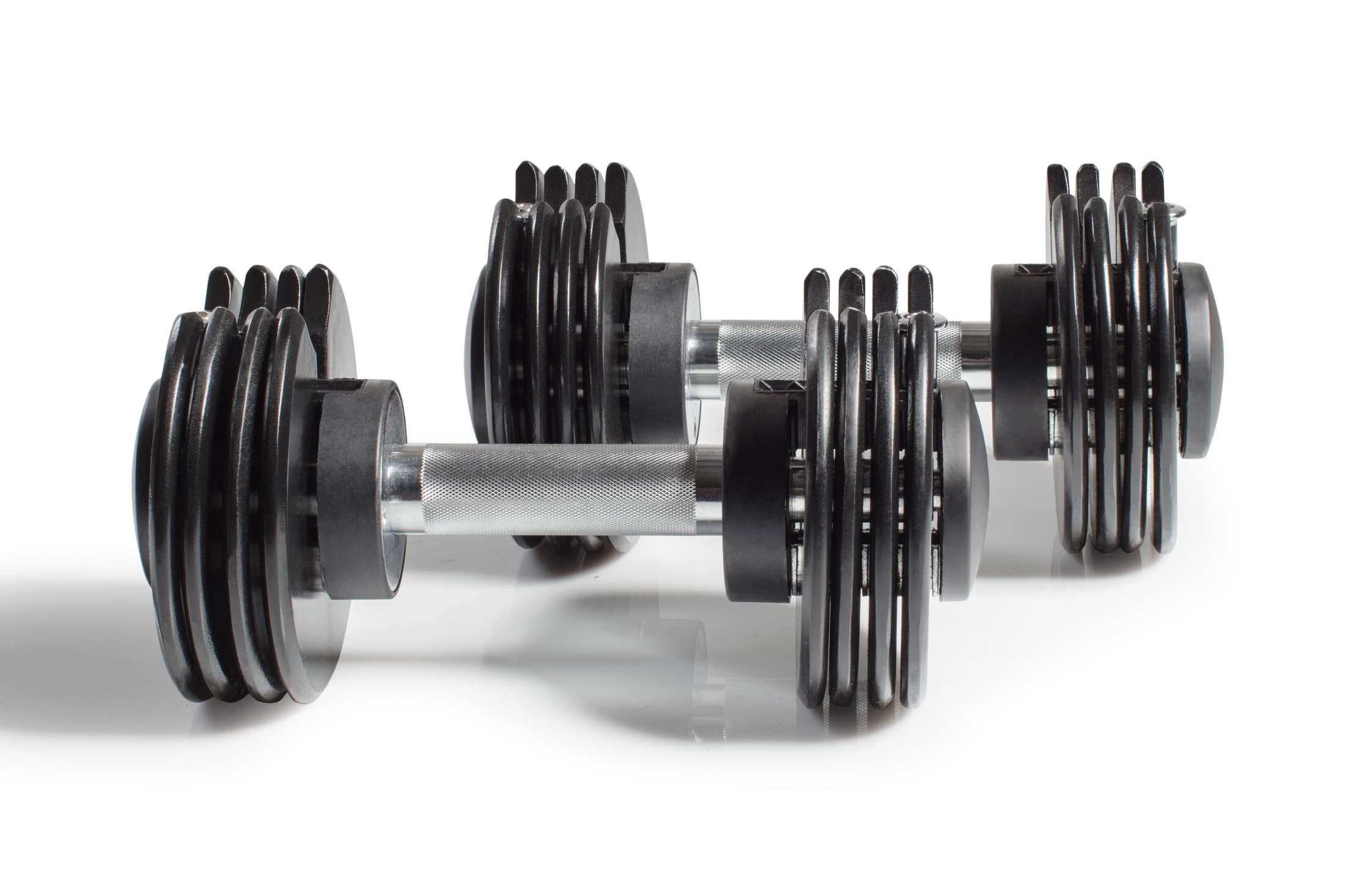 NordicTrack SpeedWeight Adjustable Dumbbells gallery image 3
