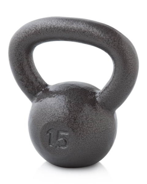 NordicTrack Gold's Gym 15 lb. Kettlebell Accessories