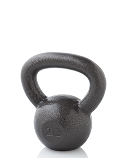 NordicTrack Gold's Gym 20 lb. Kettlebell Accessories
