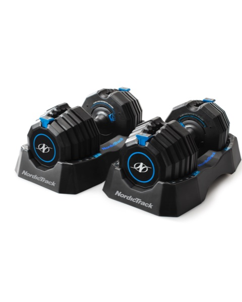 NordicTrack Select-A-Weight 55 Lb. Dumbbell Set Strength Training
