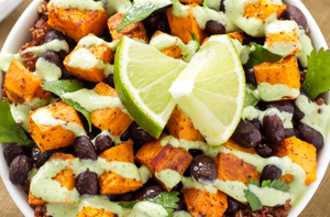 Carb Loading With Sweet Potato and Black Bean Quinoa Bowls – NordicTrack Blog