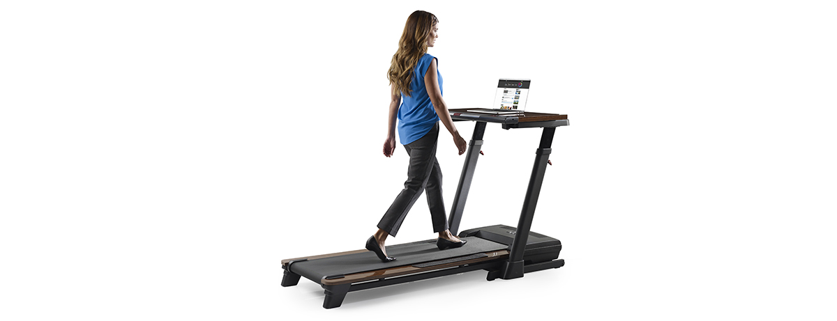 Walk As You Work With A Treadmill Desk