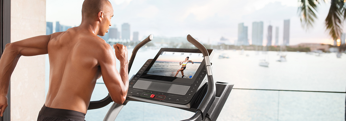 Treadmill Workouts With An iFit Personal Trainer