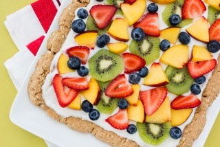 Fourth of July Light Fruit Pizza – NordicTrack