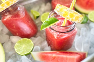 Fourth of July Watermelon Lime Slushie – NordicTrack