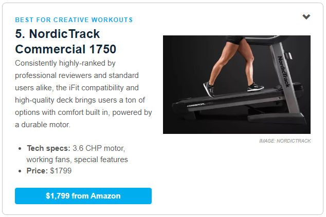 Commercial 1750 Mashable Review – NordicTrack Blog
