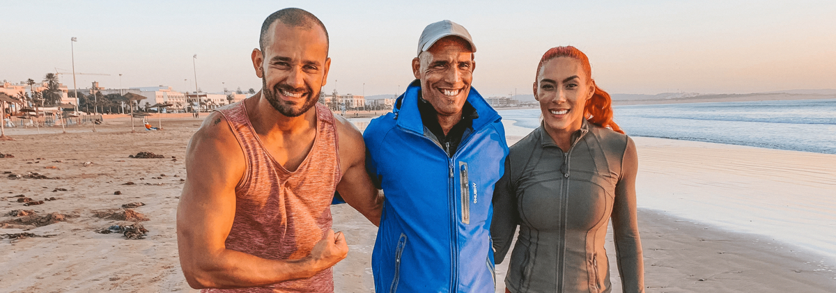 Valentine's Day Buddy Workout With iFit Trainer Hannah Eden and Paulo Barreto | NordicTrack Blog