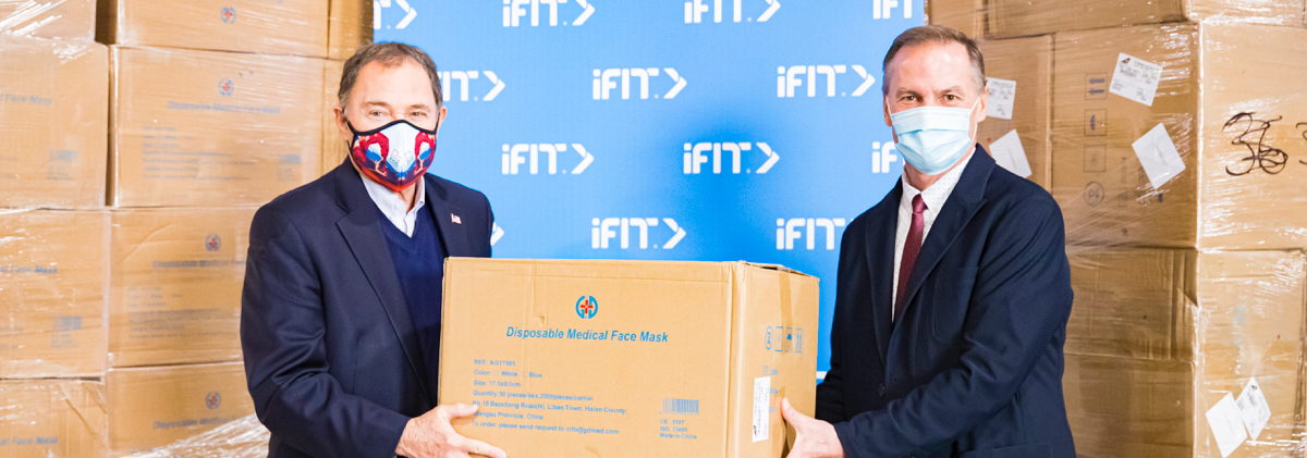 iFit Responds To COVID-19 Relief With 1.3 Million Masks Donations | NordicTrack Blog